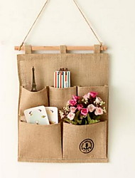 Storage Bags Textile with Feature Is Open  For Cloth Jute Debris Collection Bag