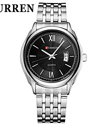 CURREN Steel Belt Fashion Contracted Business With Calendar  Watch