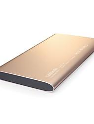 12000mAhmAhPower Bank Внешняя батарея КК 2.0 Несколько разъемов Очень тонкий 12000mAh 2.4 КК 2.0 Несколько разъемов Очень тонкий