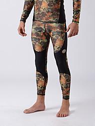 SLINX® Homme 2mm Costumes humides Combinaison de plongée Etanche Respirable Séchage rapide Pare-vent Ecran Solaire Térylène Coolmax LYCRA®