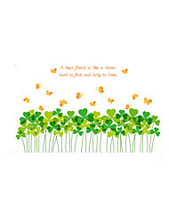 Wall Stickers Wall Decals Style Love Grass PVC Wall Stickers