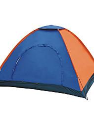 3-4 человека Световой тент Один экземляр Семейные палатки Однокомнатная Палатка Полиэстер Водонепроницаемый Воздухопроницаемость-