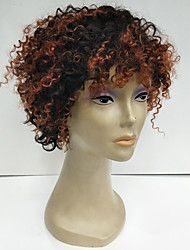 Cheap Short Natural Black Deep Curly Human Hair Capless Wigs For Black Women High quality Afro Curly Hair Wigs