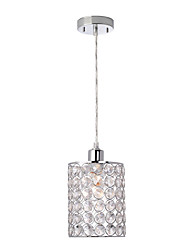 Pendant Light ,  Modern/Contemporary Traditional/Classic Chrome Feature for Crystal Mini Style MetalBedroom Dining Room Kids Room Game