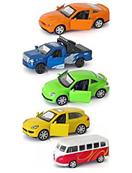 Truck Race Car Vehicle Playsets Car Toys 1:64 Metal Plastic Rainbow Model & Building Toy