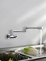 Pull-out Kitchen Faucet Wall Mounted Rain Shower Sink Tap Widespread Rotatable Kitchen  mixer