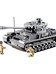 Bausteine Für Geschenk Bausteine Model & Building Toy Panzer Plastik 2 bis 4 Jahre 5 bis 7 Jahre 8 bis 13 Jahre 14 Jahre & mehr Grau