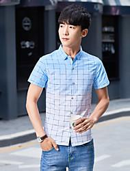 los nuevos hombres&# 39; s camisa de manga corta