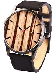 Da uomo Da donna Unisex Orologio sportivo Orologio elegante Orologio alla moda Orologio braccialetto Orologio Legno Orologio da polso