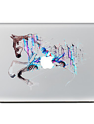 For MacBook Air 11 13/Pro13 15/Pro With Retina13 15/MacBook12 Color Horse Decorative Skin Sticker