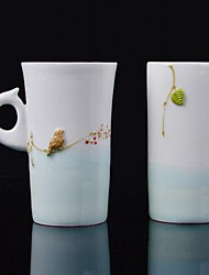 Minimalismo Artigos para Bebida, 250 ml Dom namorado presente namorada Cerâmica Leite Água Xícaras de Chá