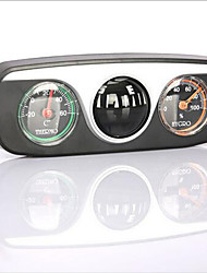 3-in-1 Car Boat Vehicles Auto Navigation Compass with Thermometer Hygrometer
