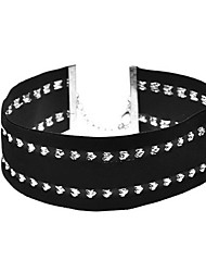 Women's Choker Necklaces Fabric Heart Fashion Personalized Euramerican Black Jewelry Daily Casual 1pc