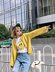 подписать новый корейский свободные свитера кардиган свитер дикий женский