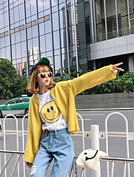 Sign new Korean loose sweater cardigan sweater wild female