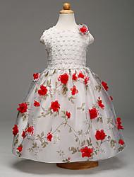 Robe Fille de Imprimé Polyester Eté Sans Manches