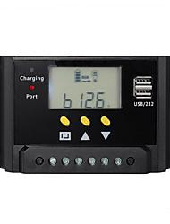 30a PWM régulateur de charge de la batterie du contrôleur solaire Dual USB 12v 24v LCD