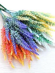 1 Ast Kunststoff Lavendel Tisch-Blumen Künstliche Blumen 10*10*35