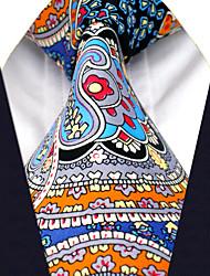 A20  Men's Tie Multicolor 100% Silk Necktie Jacquard Woven Fashion Wedding For Men