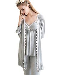 Women Bamboo Fiber Pajama