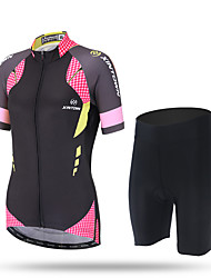 XINTOWN® Quick Dry Breathable Cycling Jersey Short Sleeve Summer Spring Women Shirt Bicycle Wear Racing Tops Cycling Clothings Short Set