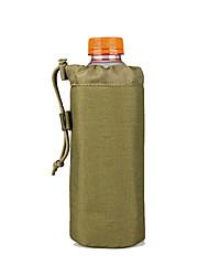 2 L Bolsa com Cadarço de Puxar Acampar e Caminhar Caça Ao ar Livre Prova-de-Pó Vestível Verde Nailom canislatrans