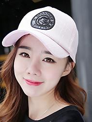 casquette de baseball féminin occasionnel extérieur treillis étoile à cinq branches de la lettre de la crème solaire chapeau