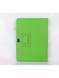 Caja de cuero original de lichi de 10 pulgadas para Huawei m2 m2 a01l-a01w con soporte cala