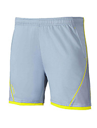 Unisex Running Shorts Comfortable Summer Badminton Polyester Loose Leisure Sports Athleisure Activewear Gray Solid
