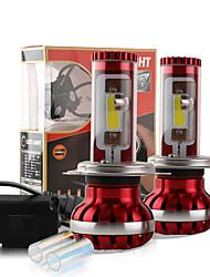 2017 nouvelle h4 9003 120W 9800lm conduit puce torchis kit phare lampes ampoules 6000k 8000k de lumières paire