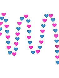 raylinedo® 1 шт 4 метра розы и голубого цвета бумаги гирлянды для свадьбы летию со дня рождения рождества партии девушки украшение