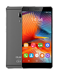 "OUKITEL U13 5.5 "" Android 6.0 4G Smartphone (Dual SIM Octa Core 13 MP 3GB + 64 GB Grey Gold)"