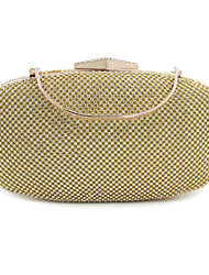 L.west Women Elegant High-grade Full Diamonds Evening Bag