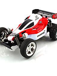 Carroça HuanQi Carro com CR 11.5 Vermelho Azul Preto Pronto a usar Carro de controle remoto Carregador de Bateria Manual do Usuário