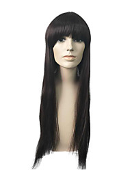 Very Long Synthetic Wig Capless Top Quality Long Straight Hair Stylish Cosplay Wig