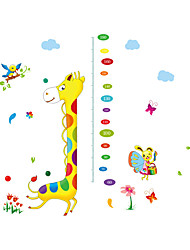 Wall Stickers Wall Decals Style Giraffe Measured Height For You PVC Wall Stickers