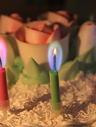 5 Colorful Candles Creative Fashion Birthday Candles