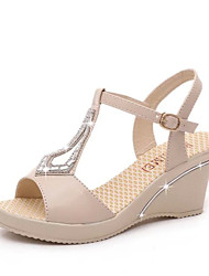 Wedge sandals han edition new female Xia Hou bottom platform for women's shoes with high heels Roman sandals