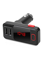 BT719S Car Bluetooth MP3 FM Transmitter Car MP3 Player Dual USB Car Bluetooth Car Charger