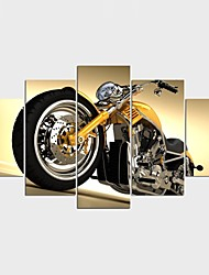 Stretched Canvas Print Still Life Leisure Style Modern,Five Panels Canvas Any Shape Print Wall Decor For Home Decoration