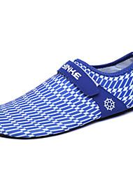 Masculino-Mocassins e Slip-Ons-Solados com Luzes par sapatos-Rasteiro--Tecido-Ar-Livre