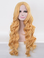 Cosplay Wigs Superstar Movie Cosplay Golden Wig Halloween Christmas Carnival Female