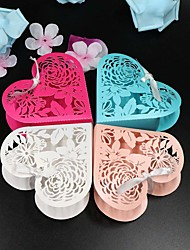 50pcs/lots Flower Laser Cut Wedding Favor Box candy box gift box wedding decoration mariage party supplies