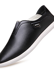 Men's Fashion Casual Hollow Out Genuine/Real Leather Shoes/Sneakers