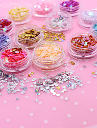 500 Manucure Dé oration strass Perles Maquillage cosmétique Nail Art Design