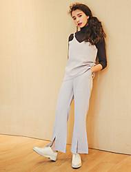 536 2017 nouveau pantalon corne petite sexy été bretelles costume + signe
