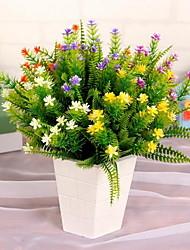 1 Ast Kunststoff andere Tisch-Blumen Künstliche Blumen 32*32*34