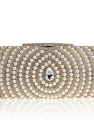 L.WEST Women's fashion noble pearl bag dinner party bag