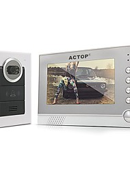 ACTOP 7 TFT LCD Infrarot-IR-Video-Türsprechanlage Gegensprechanlage