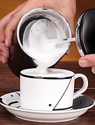 # Batedor de leite em aço inox, máquina de café por gotejamento reutilizável